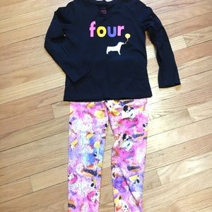 Other - Adorable Girls Puppy 'Four' Outfit